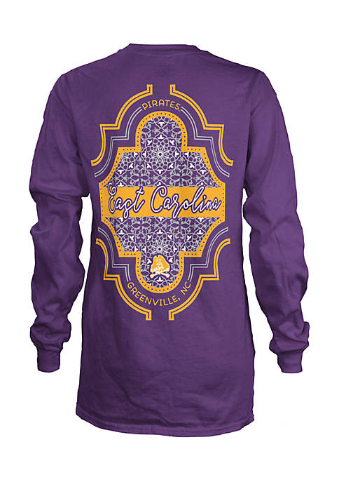 ROYCE Long Sleeve East Carolina University Teagan Coastal