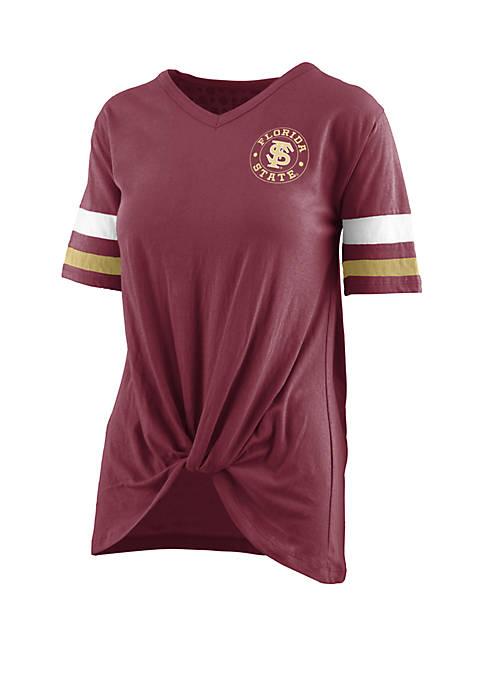 Florida State Seminoles Twist Front Knot T Shirt