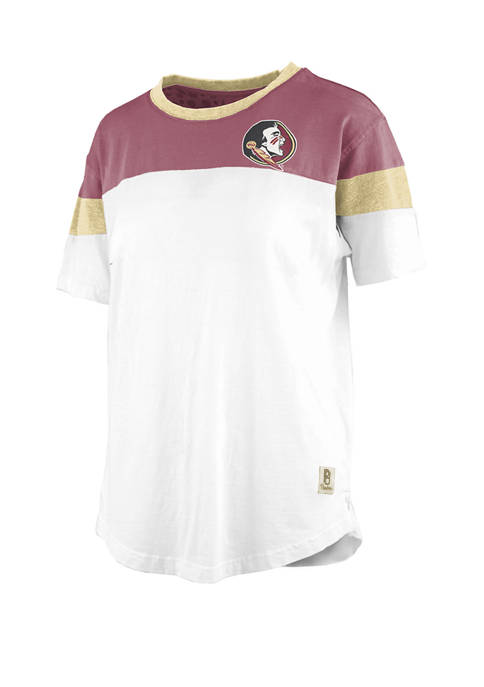 NCAA Florida State Seminoles Vintage Blossom Jersey T-Shirt