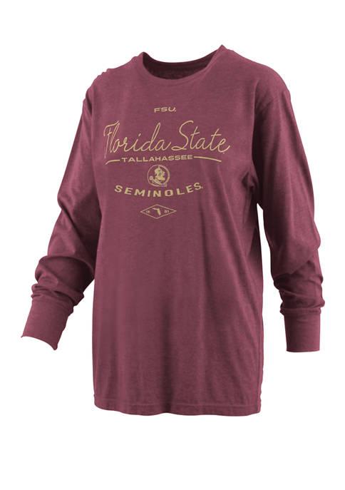 Womens NCAA Florida State Seminoles Farrah Melange T-Shirt