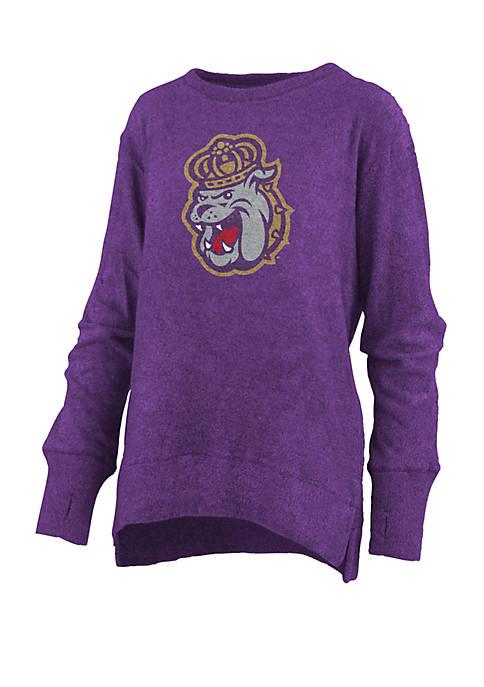 Womens NCAA James Madison Dukes  Fresno Cuddle Knit T-Shirt