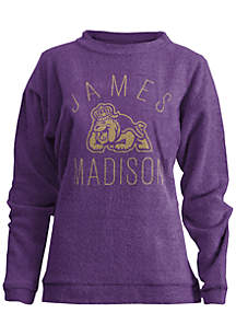 James Madison Dukes Thin Arch Mock Neck Top