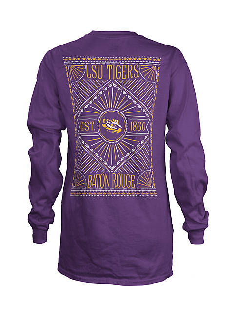 ROYCE LSU Tigers Long Sleeve T Shirt