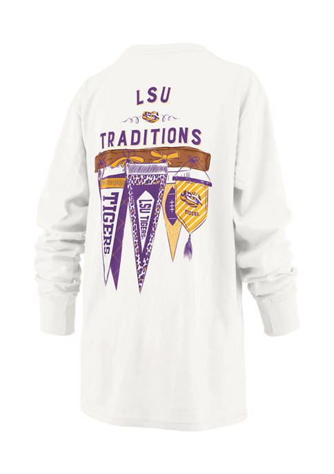 Pressbox Womens NCAA LSU Tigers Long Sleeve Traditions
