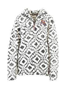 LSU Tigers Tribal 1/4 Zip Fleece Pullover