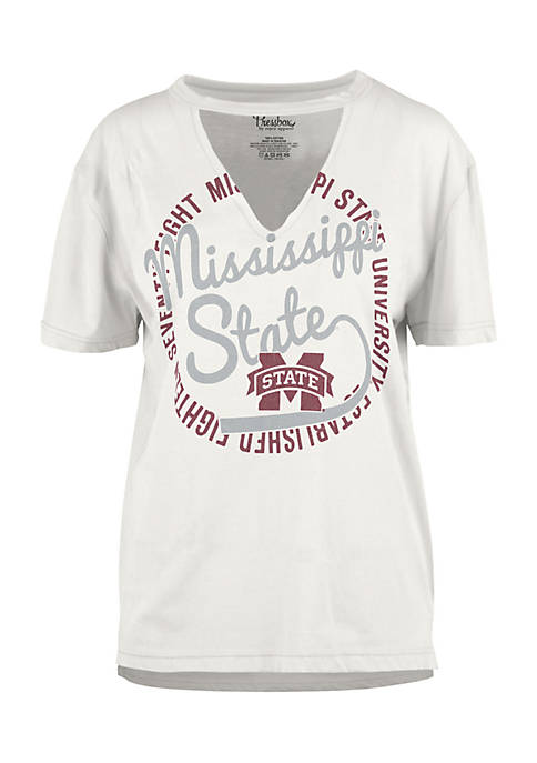 ROYCE Mississippi State Bulldogs Lucky Sailor Choker Tee