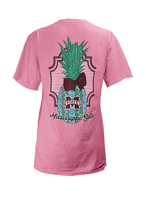 Mississippi State Bulldogs Coastal V Neck Tee