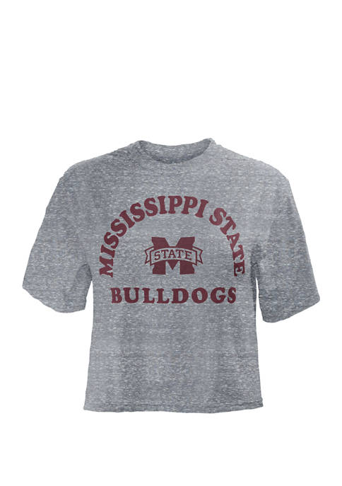 NCAA Mississippi State Bulldogs Summer Camp Crop Top
