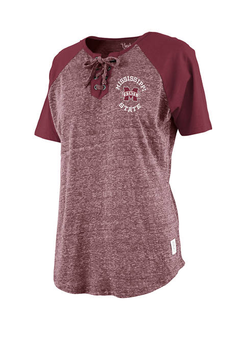 Pressbox NCAA Mississippi State Bulldogs Lace Neck Jersey