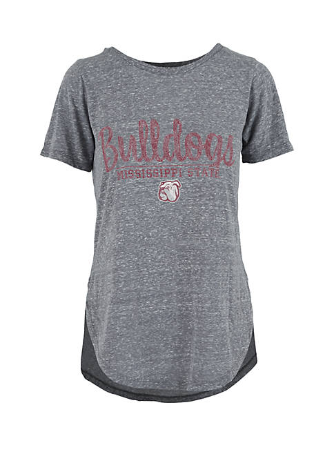 Mississippi State Bulldogs Rounded Crew T Shirt