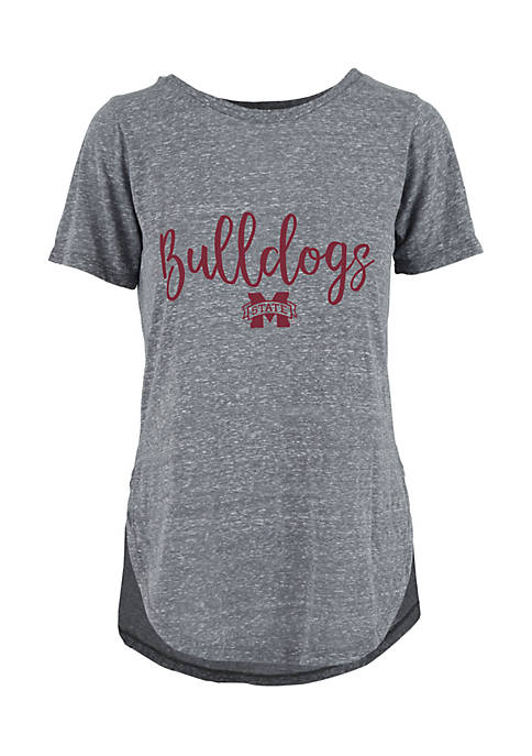 ROYCE Mississippi State Short Sleeve Gertrude Knobbie Tee