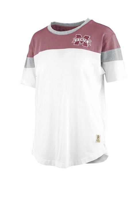 Pressbox NCAA Mississippi State Bulldogs Blossom Jersey T-Shirt