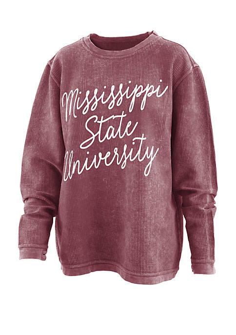 Mississippi State Bulldogs Rebecca Script Comfy T Shirt
