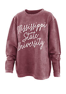 ROYCE Mississippi State Bulldogs Rebecca Script Comfy T Shirt