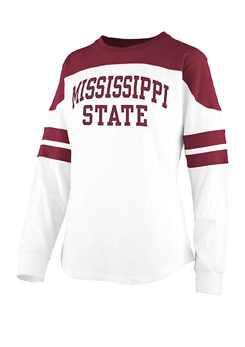 Pressbox Mississippi State Bulldogs Half Back Jersey T