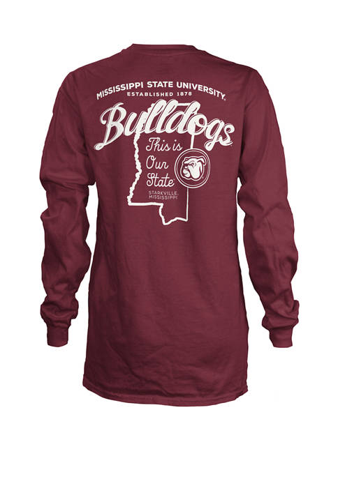 Pressbox Womens NCAA Mississippi State Bulldogs State Jersey