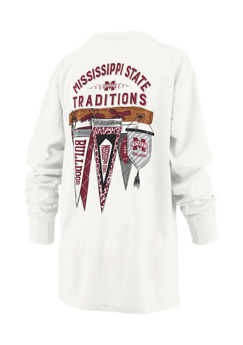 Womens NCAA Mississippi State Bulldogs Long Sleeve Traditions T-Shirt