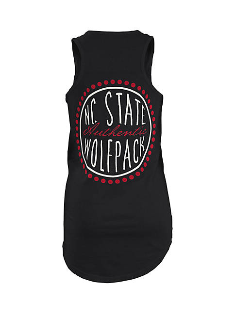 NC State Wolfpack Curly Sue Coastal Tank
