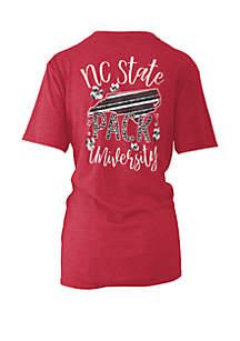 ROYCE NC State Wolfpack Memory Board Coastal T Shirt