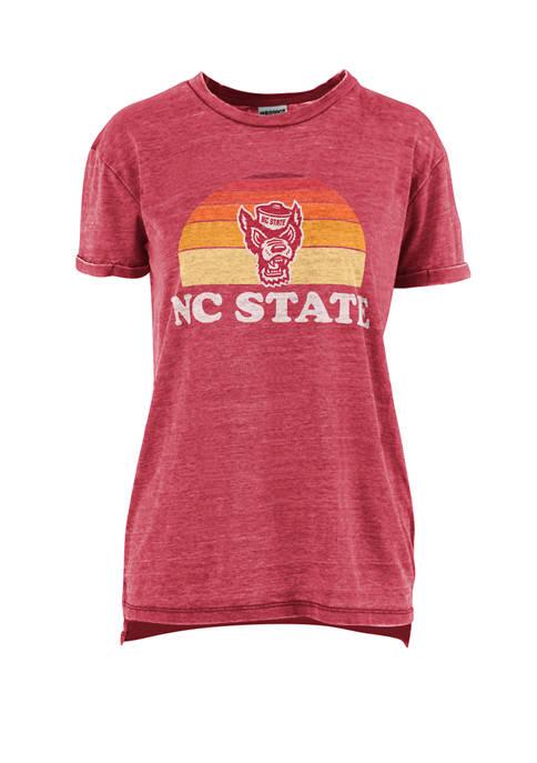 Pressbox NCAA NC State Wolfpack Vintage Boyfriend Vaporwave
