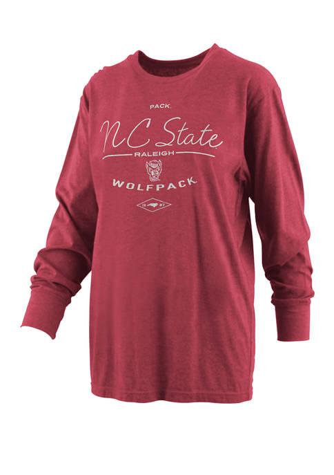 Pressbox Womens NCAA NC State Wolfpack Farrah Melange