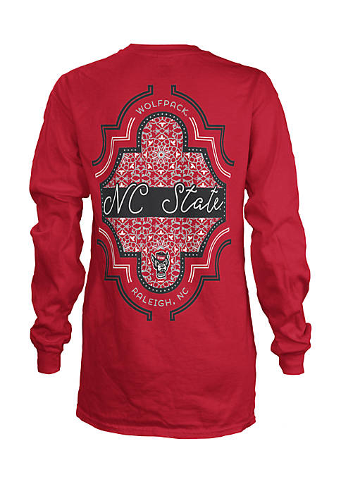 ROYCE Long Sleeve NC State Teagan Coastal Crew