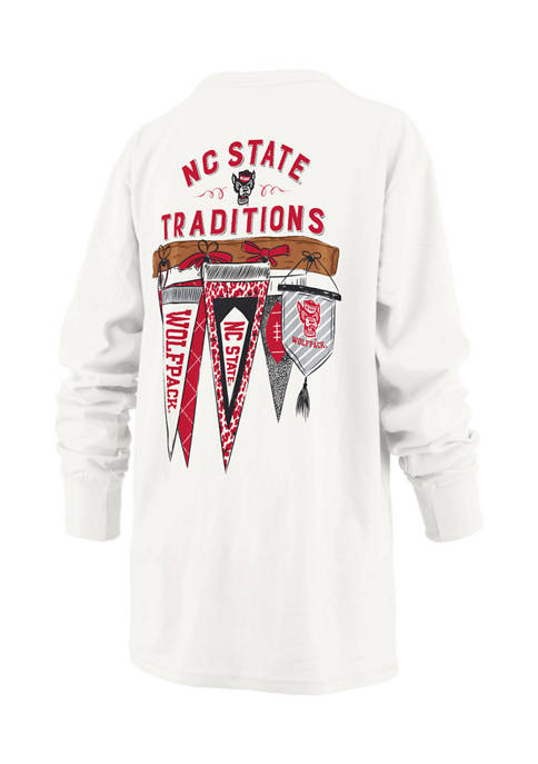 Womens NCAA NC State Wolfpack Long Sleeve Traditions T-Shirt