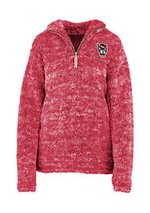 NC State Wolfpack Poodle 1/4 Fleece Pullover