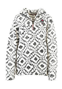 NC State Wolfpack Tribal Poodle 1/4 Fleece Pullover