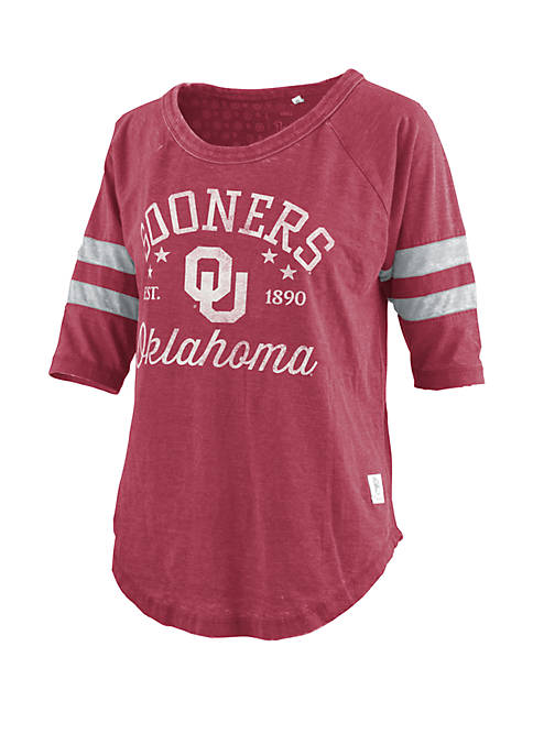 Oklahoma Sooners Jade Vintage Jersey T Shirt