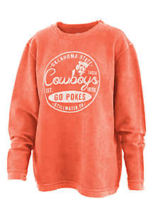 Oklahoma State Cowboys Surfer Stamp Comfy Pullover