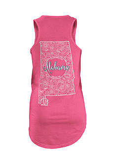 ROYCE Alabama Curls and Lace Stated Tank Top