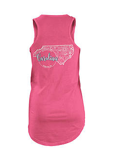 ROYCE North Carolina Curls and Lace State Tank Top