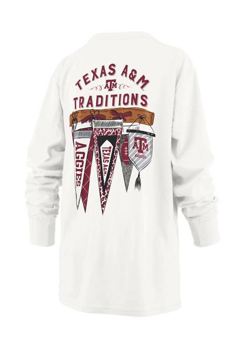 Womens NCAA Texas A&M Aggies Long Sleeve Traditions T-Shirt