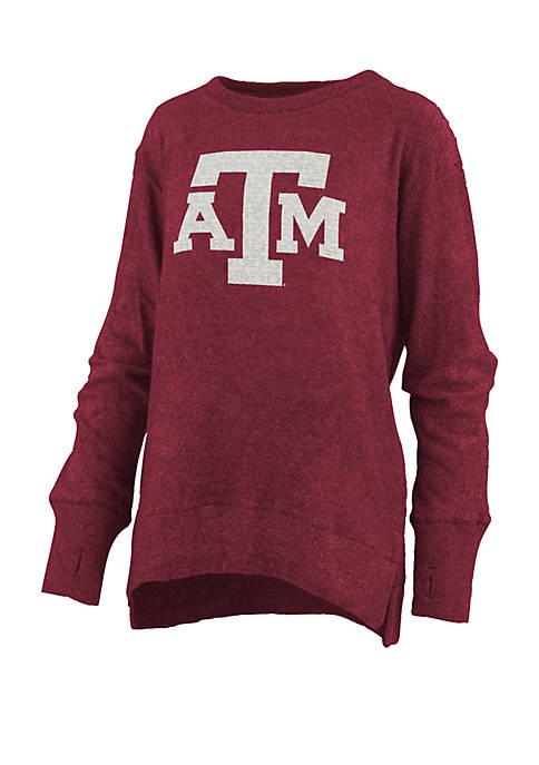 Womens NCAA Texas A&M Aggies Fresno Cuddle Knit Pullover