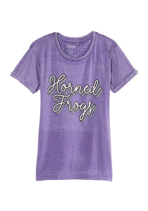 Womens NCAA TCU Horned Frogs Go Girl T-Shirt