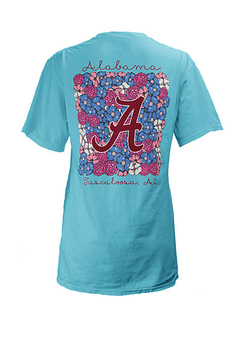 ROYCE Alabama Crimson Tide Floral Bunch Coastal T