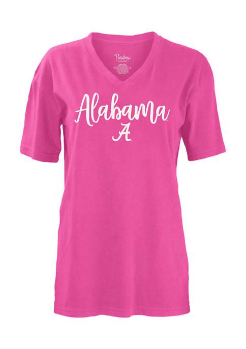 Pressbox NCAA Alabama Crimson Tide Gertrude Graphic T-Shirt