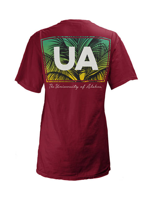 Pressbox NCAA Alabama Crimson Tide Short Sleeve Nahla