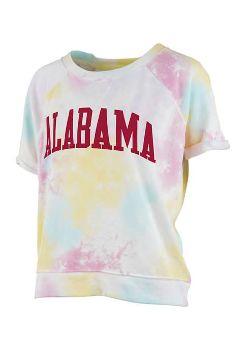 Pressbox Womens NCAA Alabama Crimson Tide Rainbow Splash