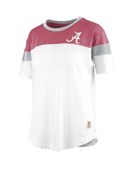 Pressbox NCAA Alabama Crimson Tide Blossom Jersey T-Shirt