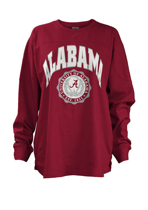 Womens NCAA Alabama Crimson Tide Edith Sweeper T-Shirt