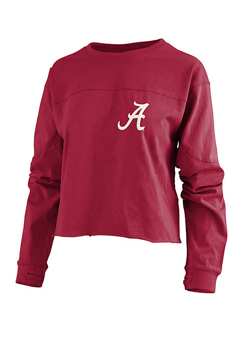 Pressbox Alabama Crimson Tide Fight Song Cropped T
