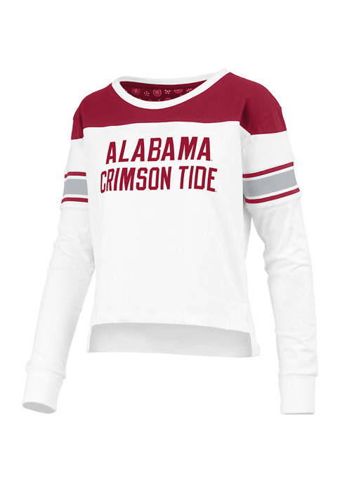 Womens NCAA Alabama Crimson Tide Kaia Long Sleeve T-Shirt
