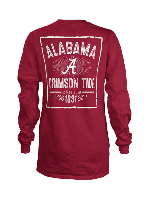 Pressbox Womens NCAA Alabama Crimson Tide Daisy Jersey