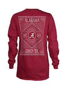ROYCE Alabama Crimson Tide Long Sleeve T Shirt