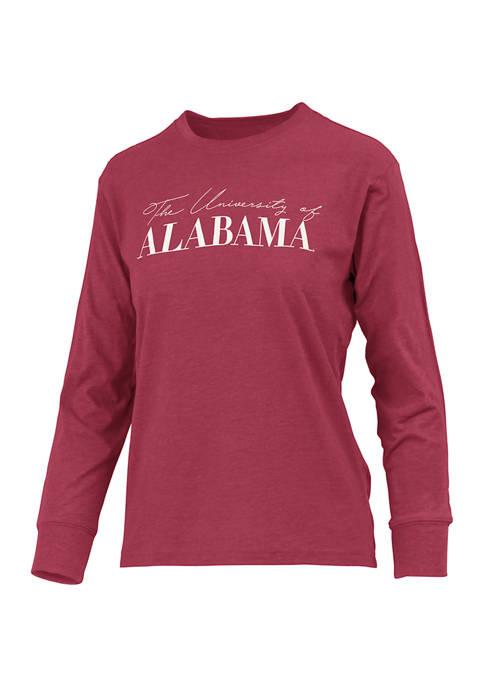 Pressbox NCAA Alabama Crimson Tide Drop Shoulder Graphic