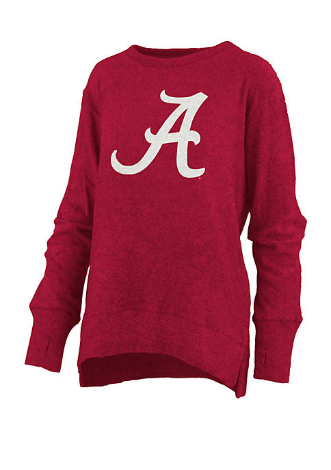 Womens NCAA Alabama Crimson Tide Fresno Cuddle Knit Pullover