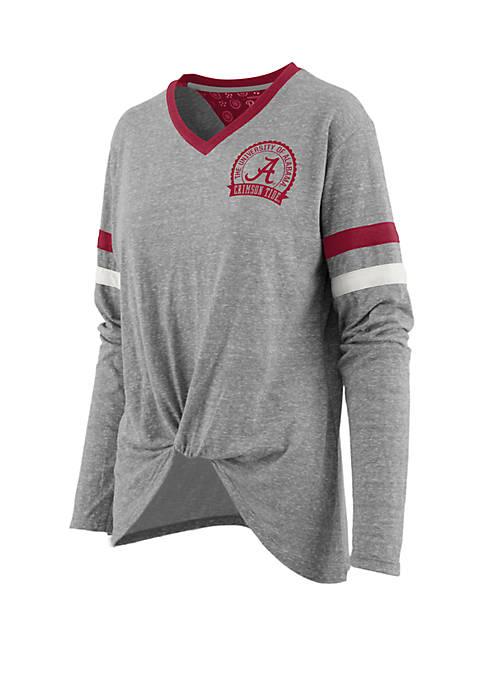 ROYCE Alabama Crimson Tide Maple Long Sleeve Shirt