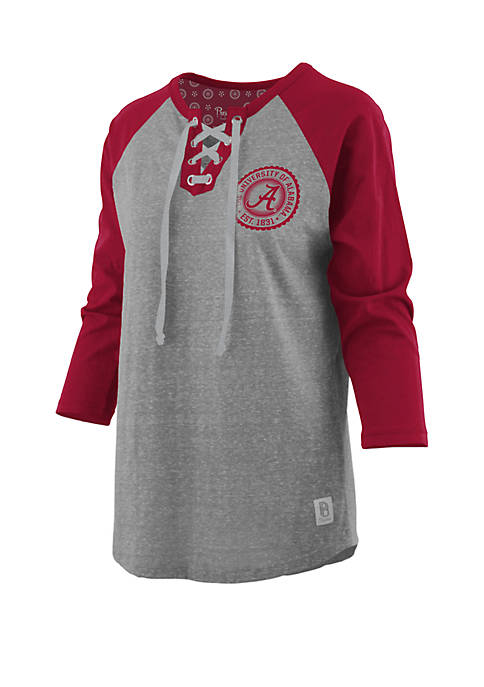 Pressbox Alabama Crimson Tide True Knobi Lace Up